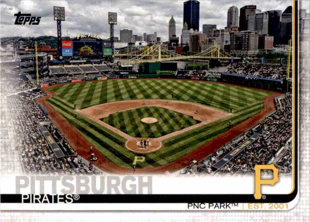 2019 Topps Series 1 Pnc Park #48 card front image