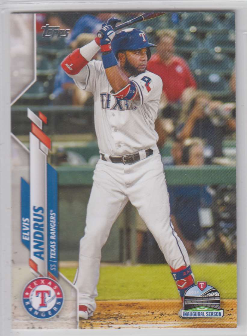2020 Topps Elvis Andrus #577 card front image