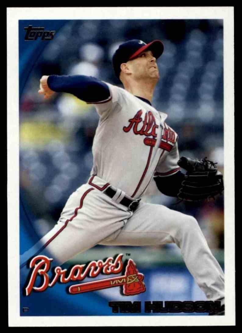 2010 Topps Tim Hudson #142 card front image