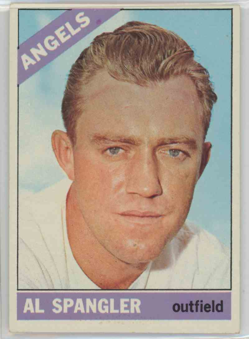 1966 Topps Al Spangler #173 card front image