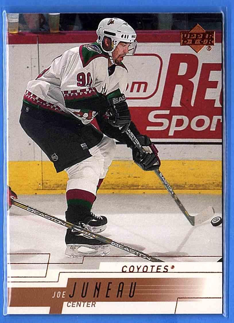 2000-01 Upper Deck Joe Juneau #361 card front image