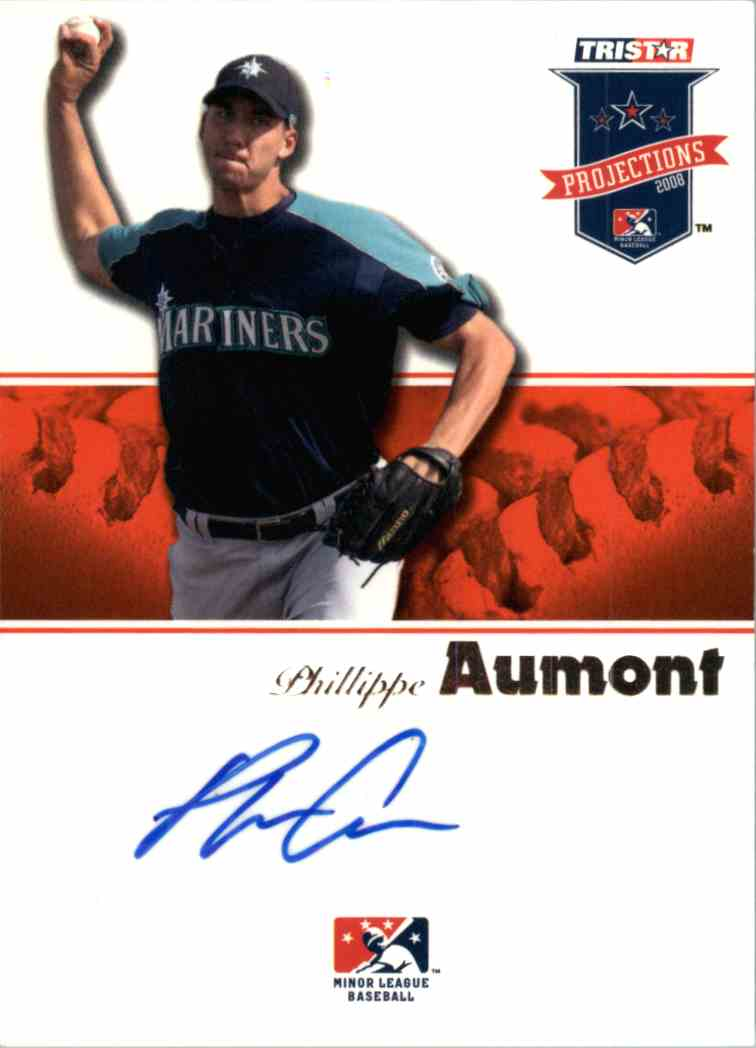 2008 Tristar PROjections Phillippe Aumont #61 card front image