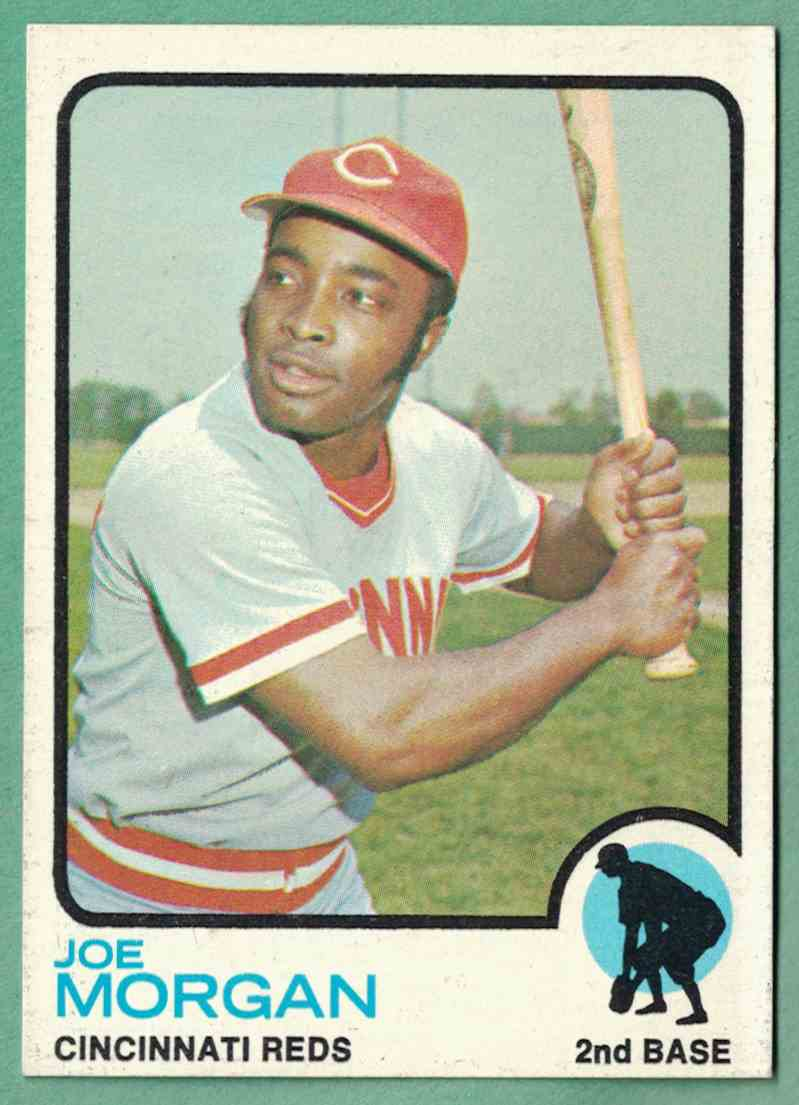 1973 Topps Joe Morgan NM OC #230 card front image