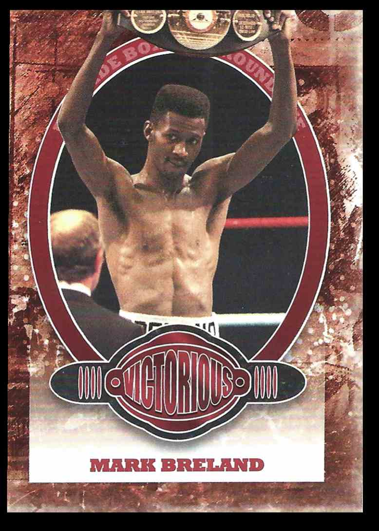 2010 Sport Kings Ringside Boxing Victorious Mark Breland #84 card front image