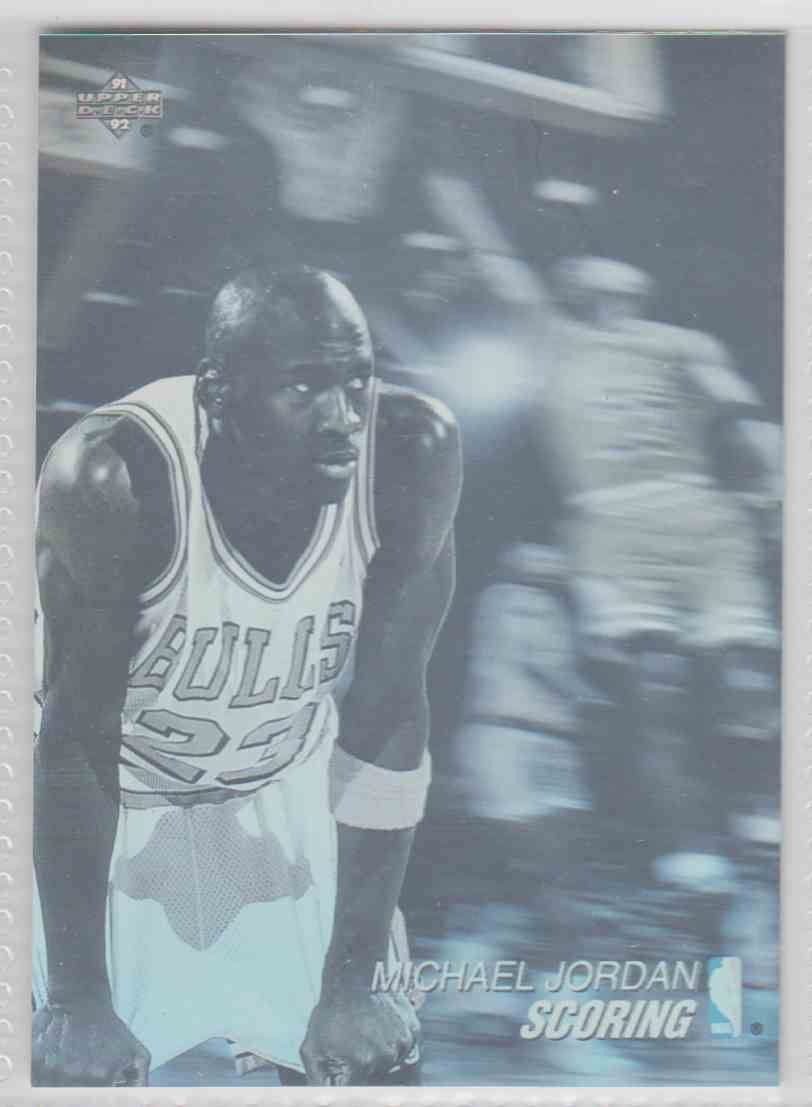 1991 92 Upper Deck Award Winner Holograms Michael Jordan Aw1