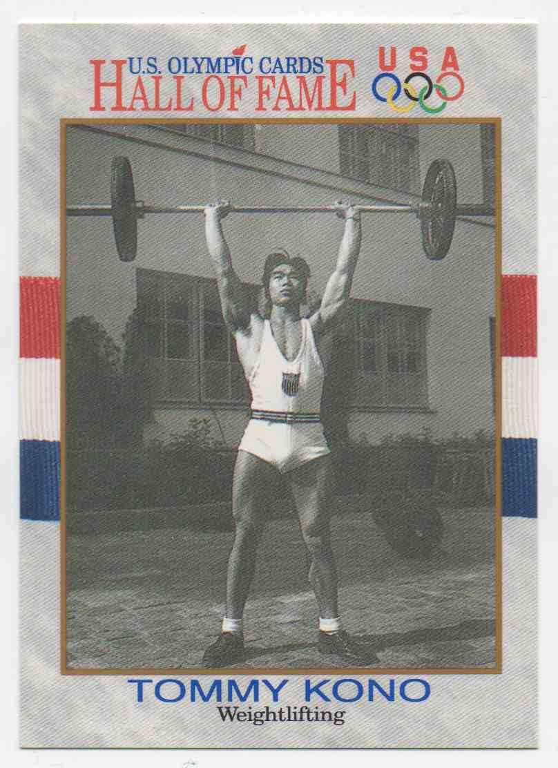 1991 Impel U.S. Olympic Hall Of Fame Tommy Kono #48 card front image