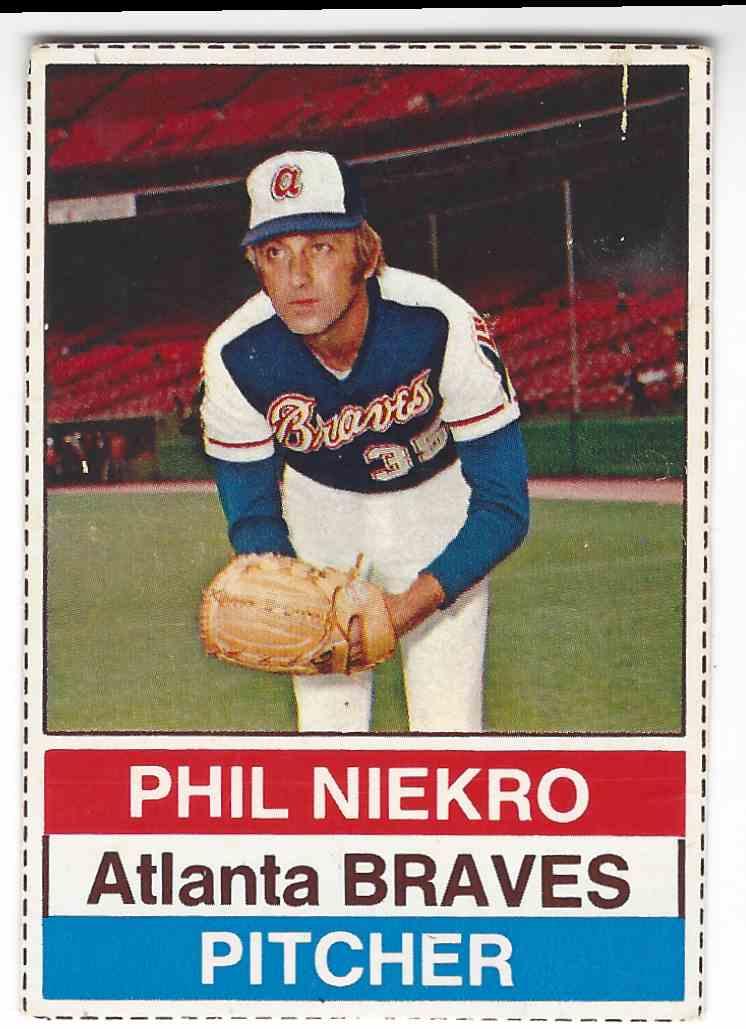 1976 Hostess Phil Niekro 3 On Kronozio