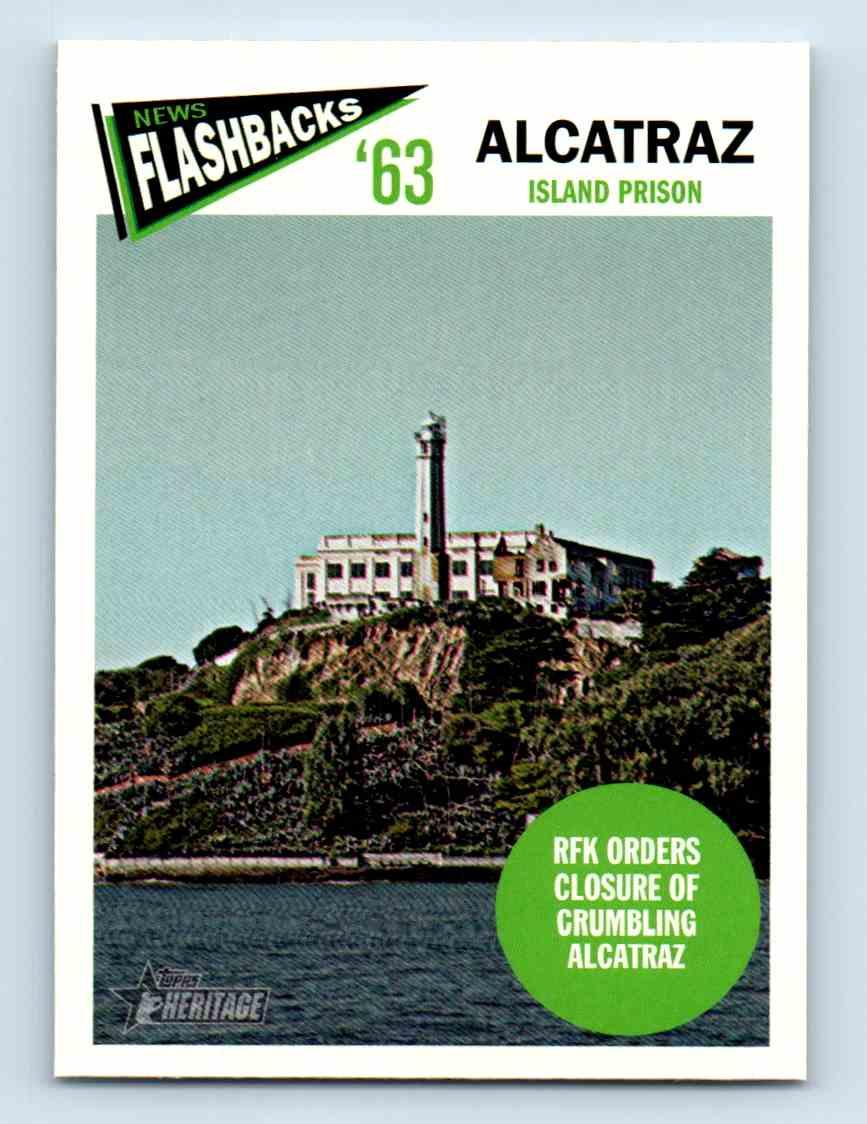 2012 Topps Heritage Baseball Flashbacks Alcatraz #NF-A card front image