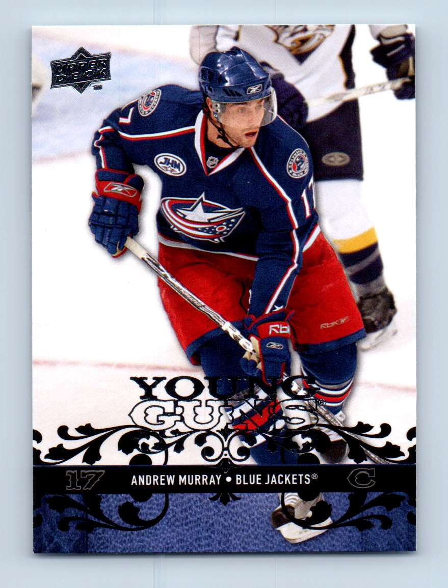 2008-09 Upper Deck Young Guns Andrew Murray #466 card front image