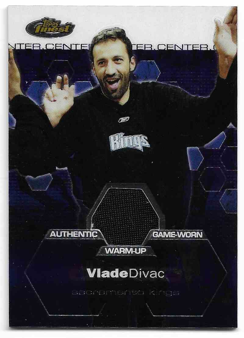 2002-03 Topps Finest Lade Divac #125 card front image