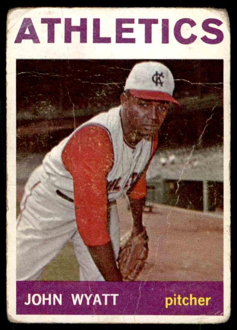 1964 Topps John Wyatt #108 card front image