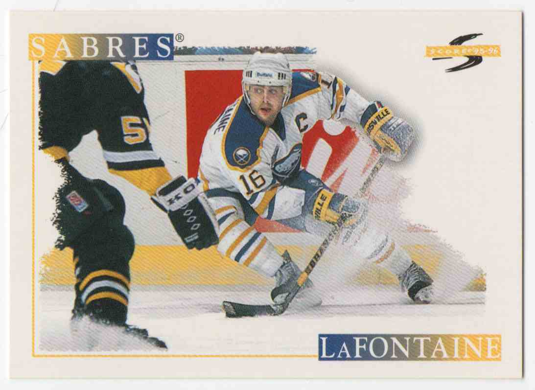 1995-96 Score Pat LaFontaine #201 card front image