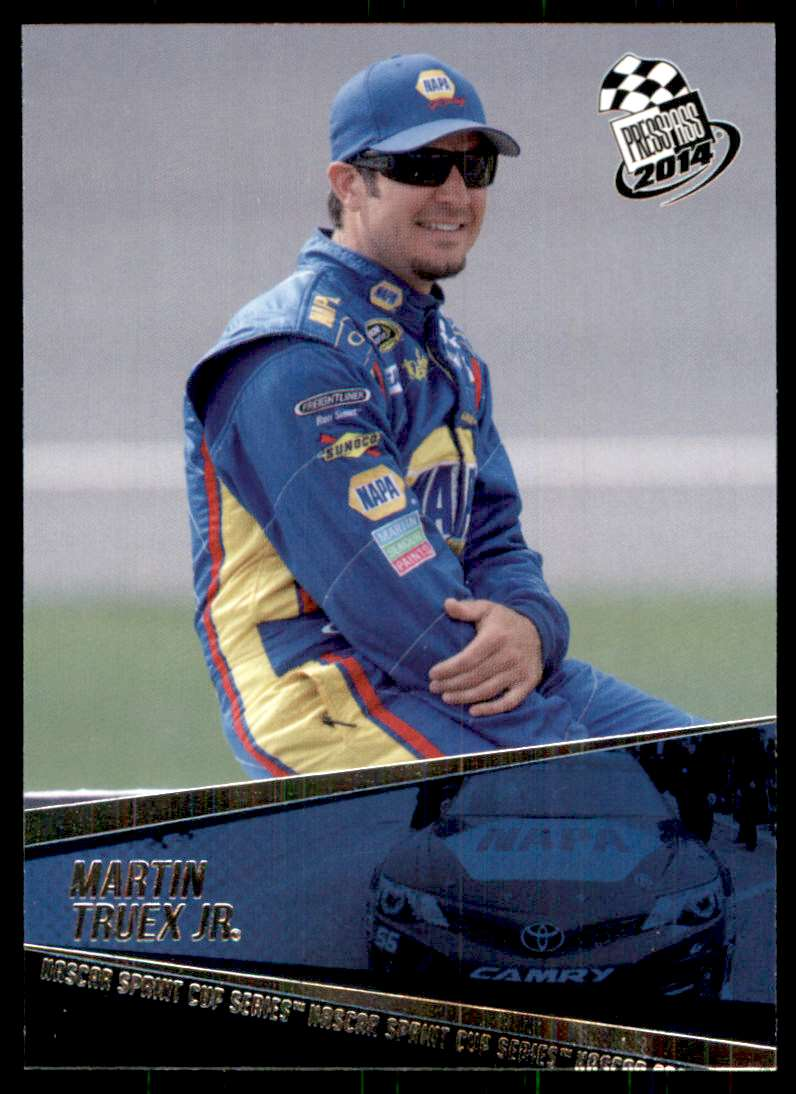 2014 Press Pass Martin Truex JR #39 card front image