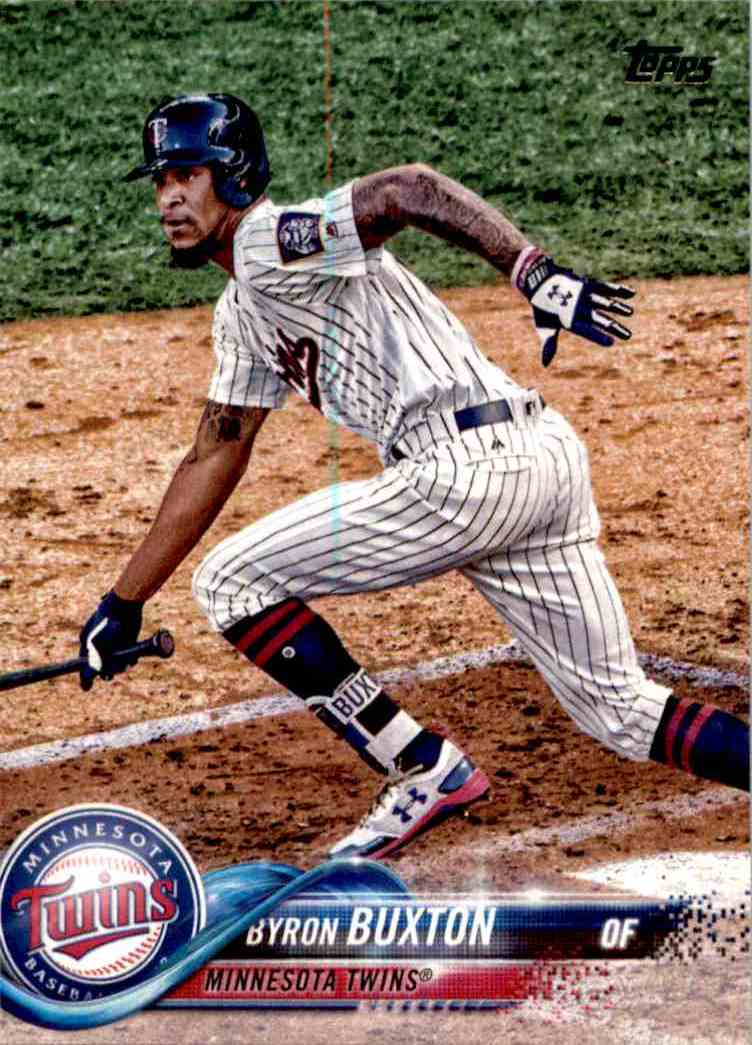 2018 Topps Series One Byron Buxton #127 card front image