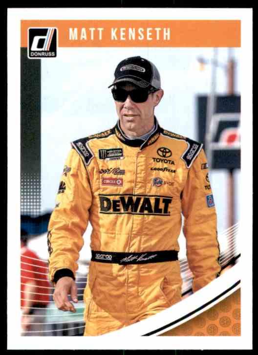 2019 Donruss Matt Kenseth #74 card front image