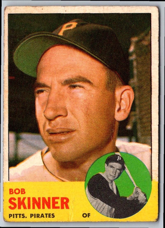 1963 Topps Bob Skinner #215 card front image
