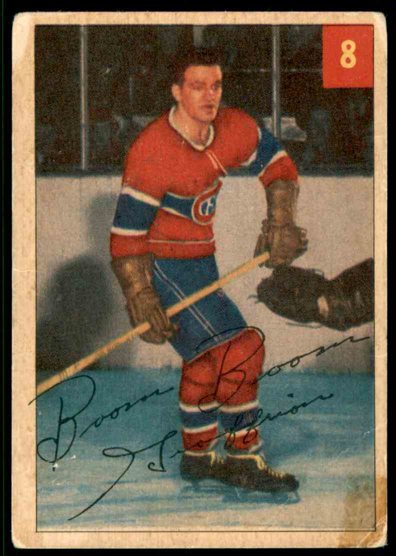 1953-54 O Bernie Geoffrion card front image