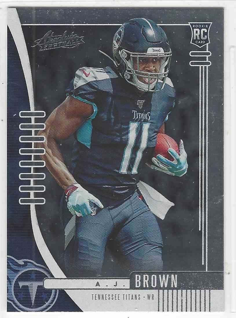 2019 Panini Absolute Aj Brown #101 card front image