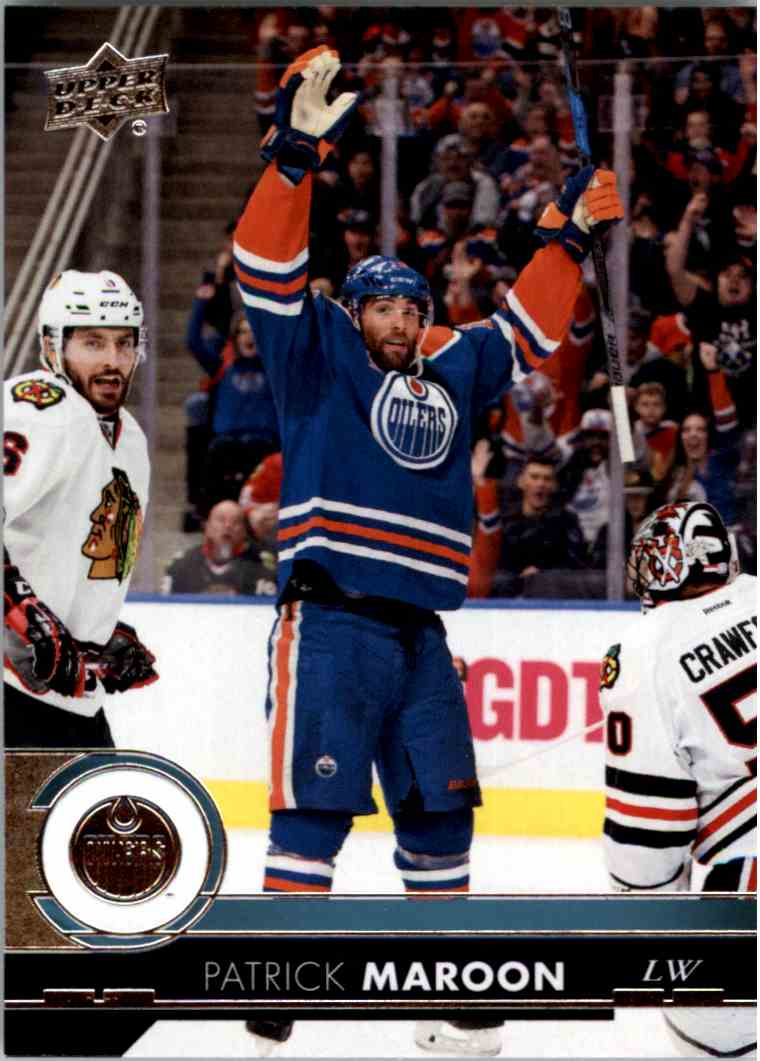 2017-18 Upper Deck Series 1 Patrick Maroon #78 card front image