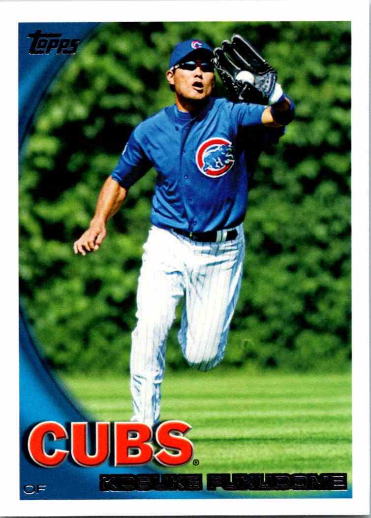 2010 Topps Kosuke Fukudome #409 card front image