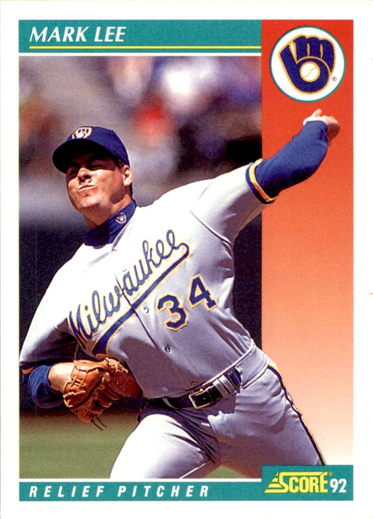 1992 Score Mark Lee #277 card front image