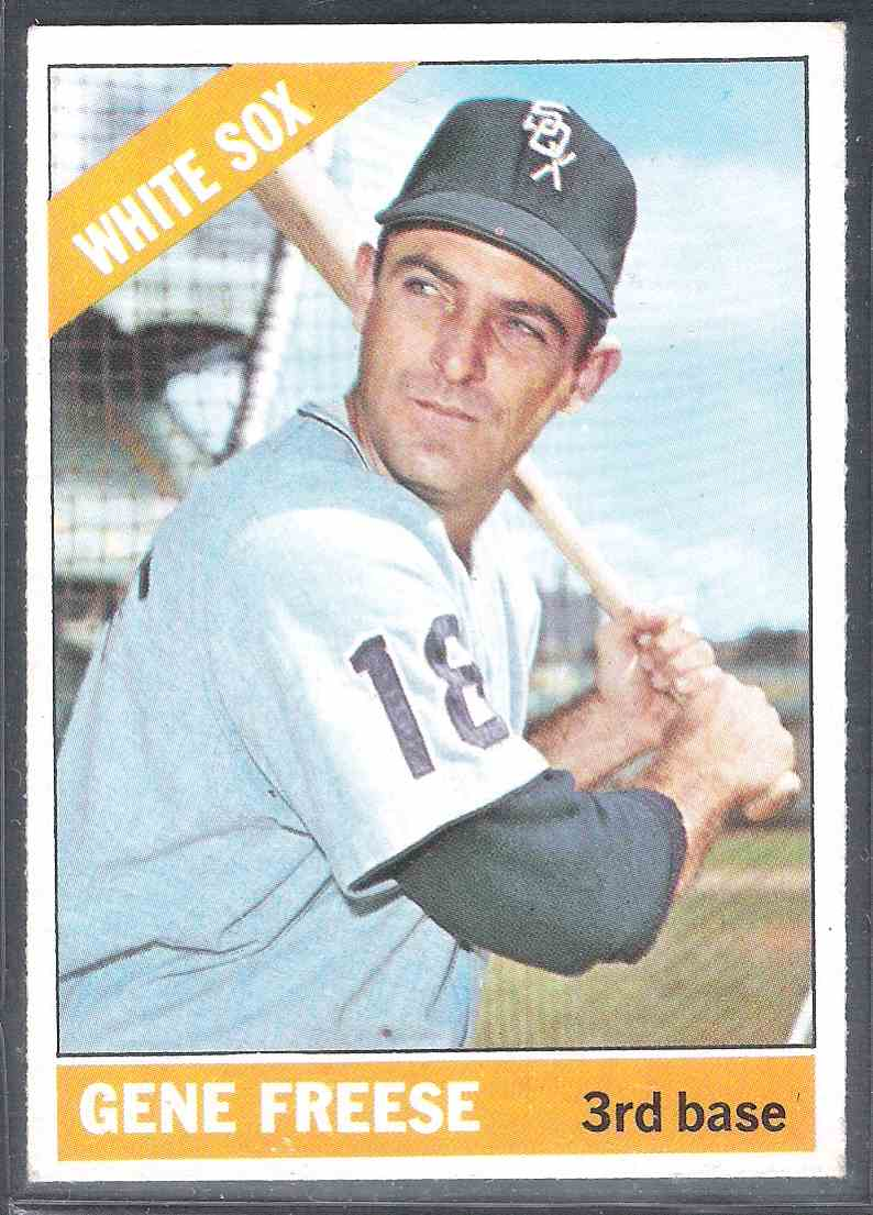 1966 Topps Gene Freese #319 card front image