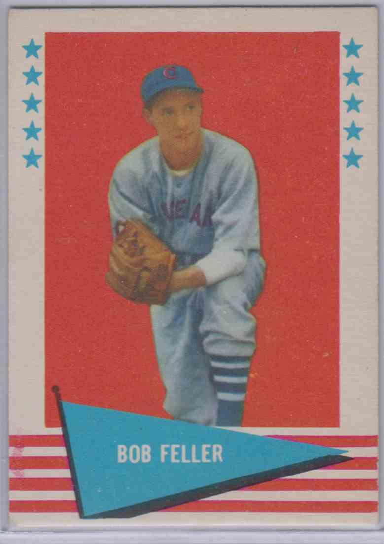 1961 Fleer Bob Feller #25 card front image