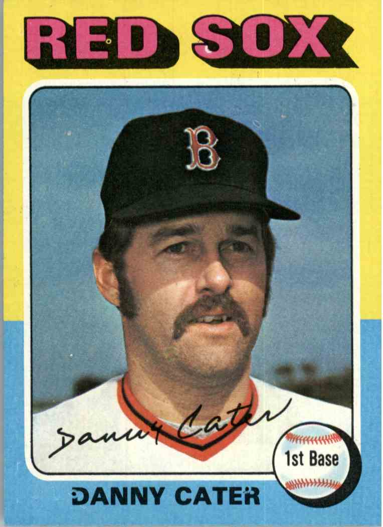1975 Topps Danny Cater #645 card front image