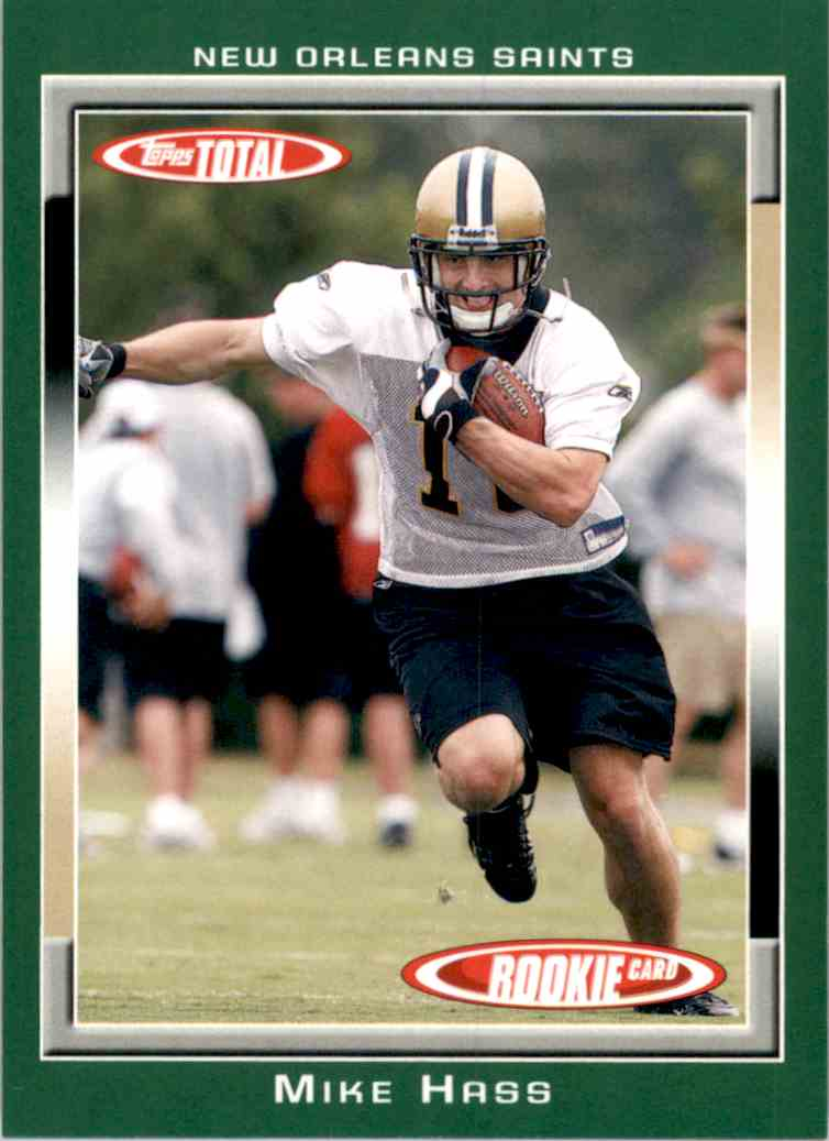 2006 Topps Total Mike Hass RC #519 card front image