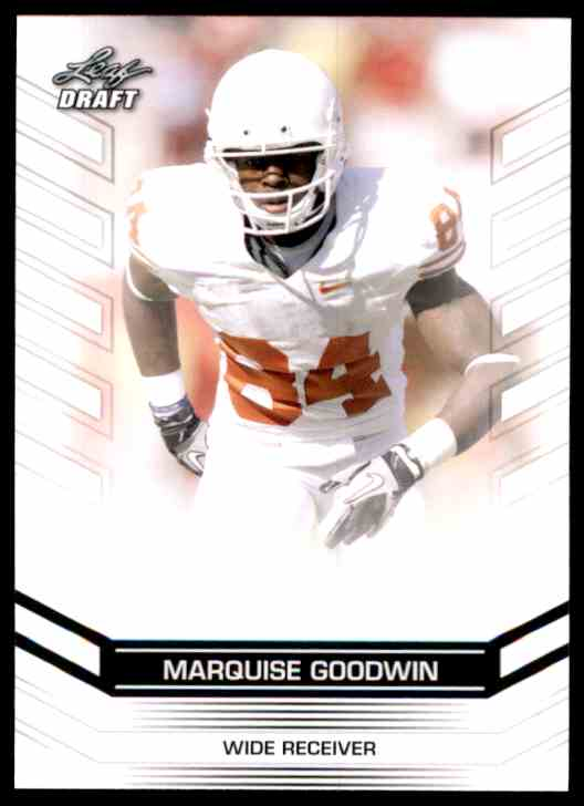 2013 Leaf Draft Marquise Goodwin #48 card front image