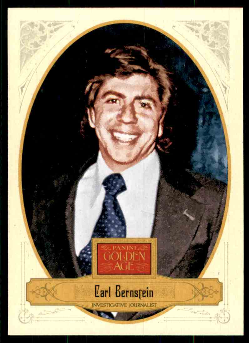 2012 Panini Golden Age Carl Bernstein #137 card front image