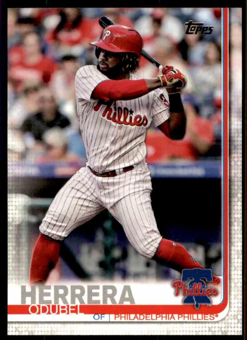 2019 Topps Odubel Herrera #224 card front image