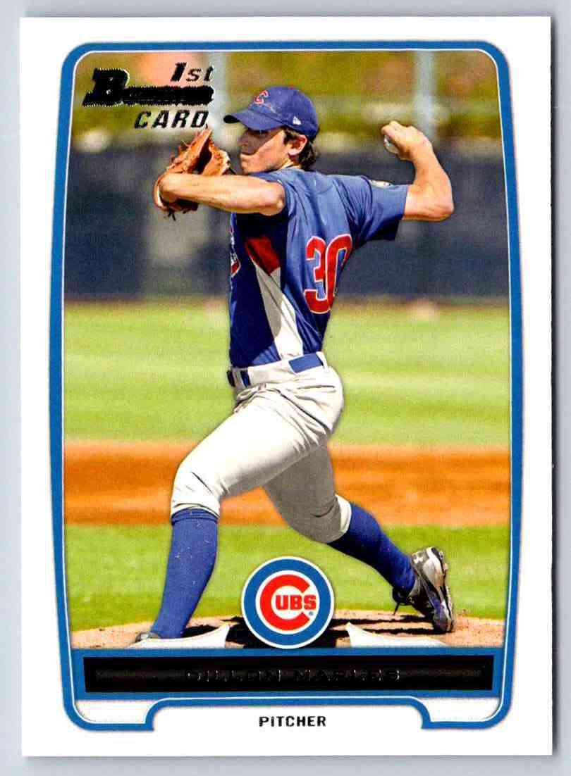 2012 Bowman Prospects Dillon Maples #BP75 card front image
