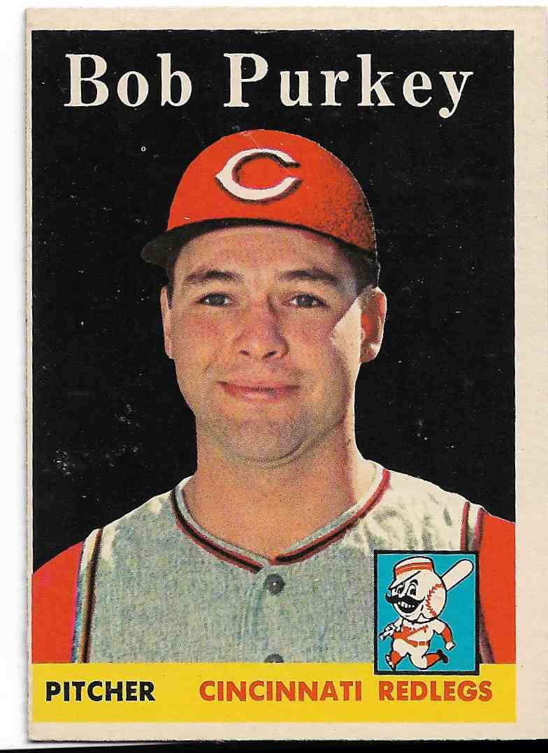 1958 Topps Bob Purkey #311 card front image