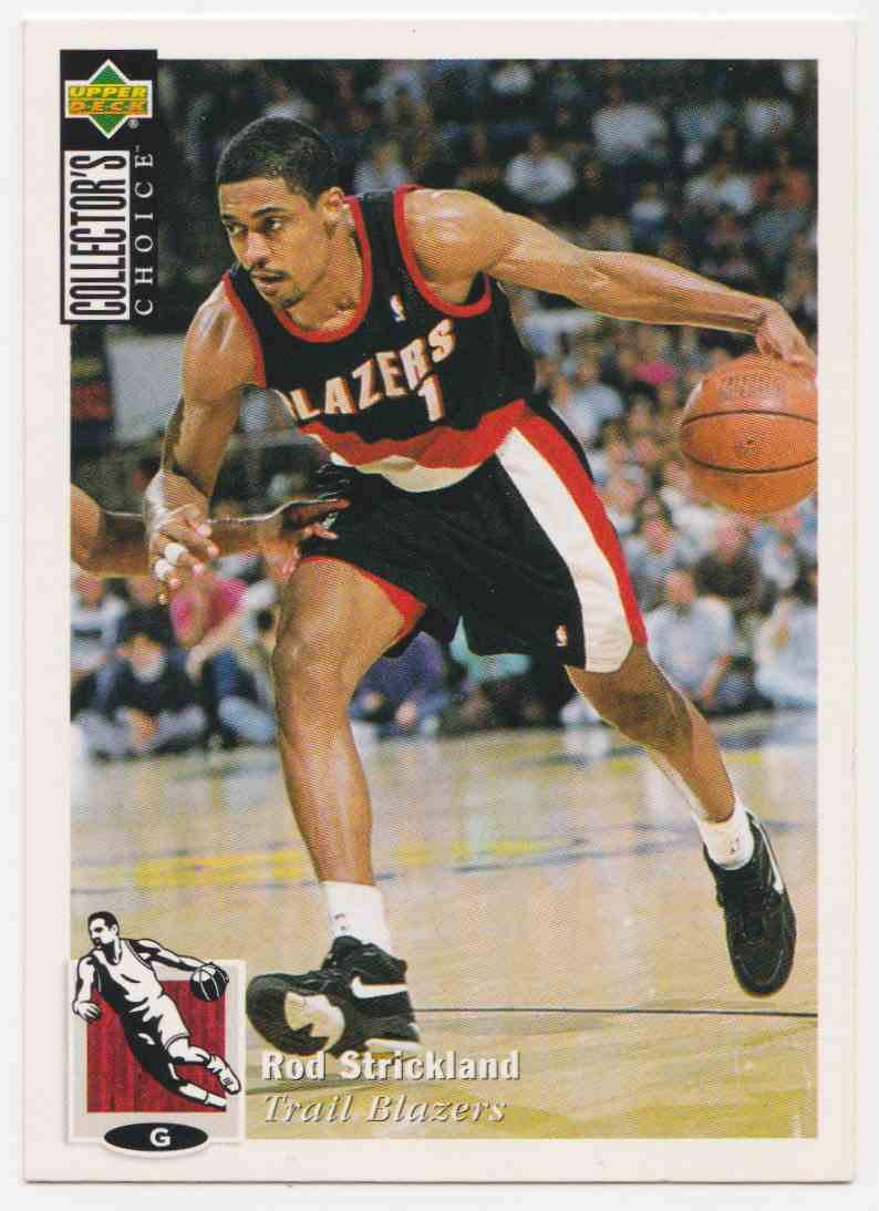 1994-95 Upper Deck Collector's Choice Base Rod Strickland #151 card front image