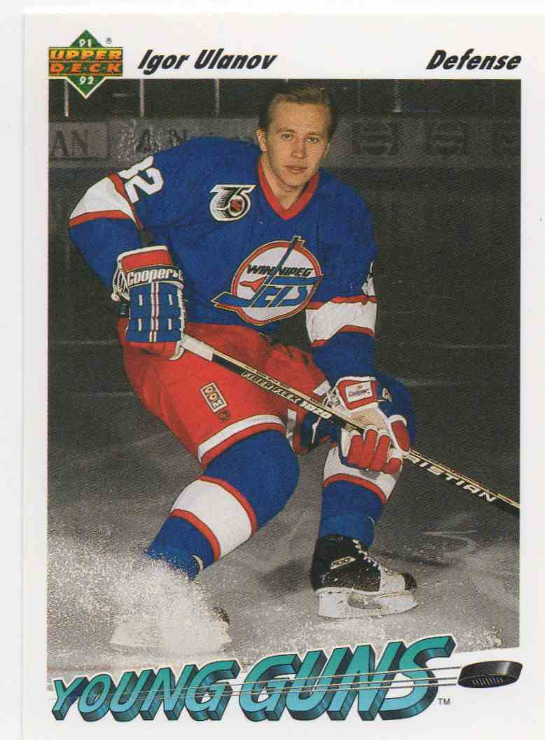 1991-92 Upper Deck Igor Ulanov #590 card front image