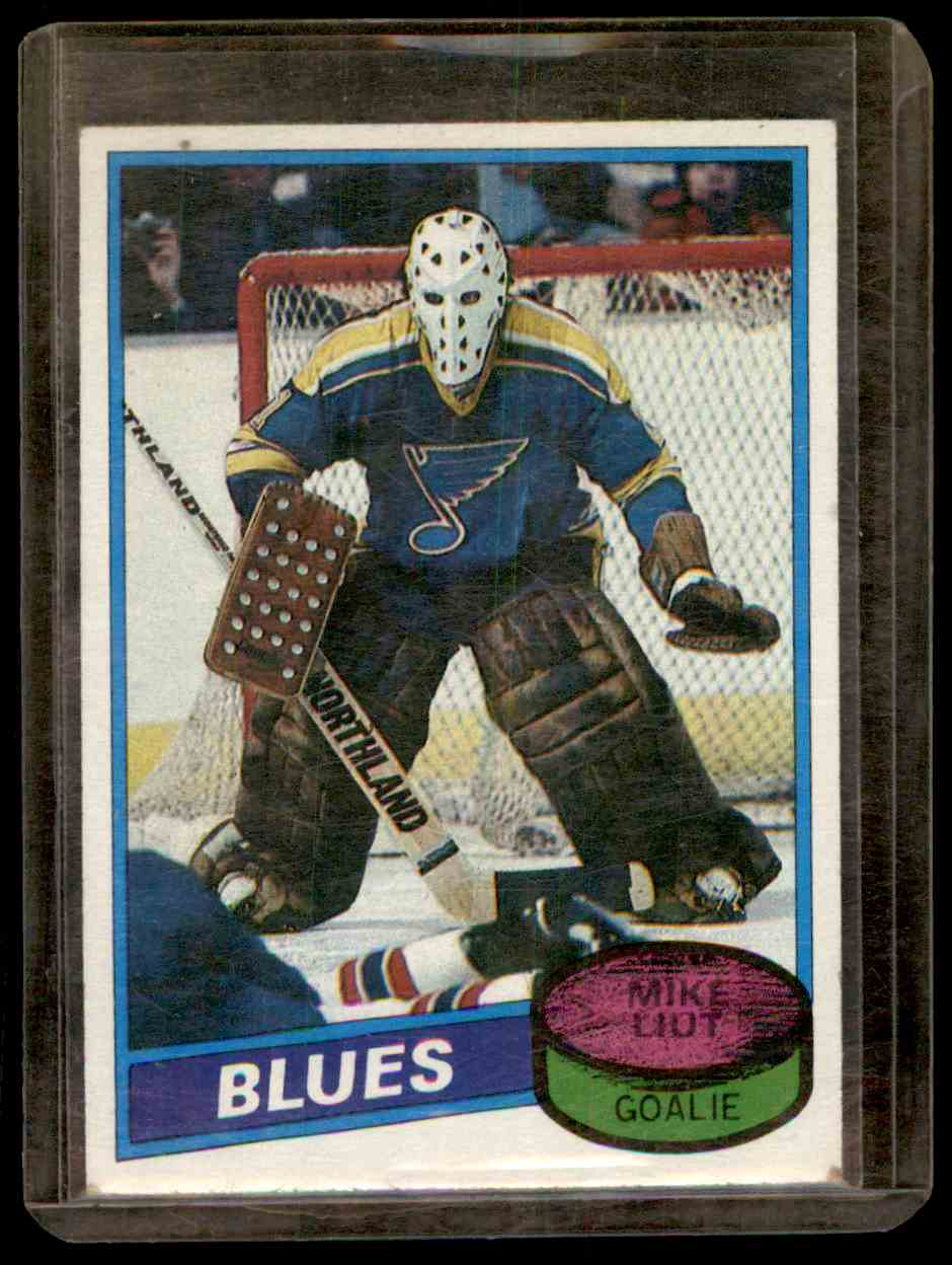1980-81 Topps Mike Liut #31 card front image