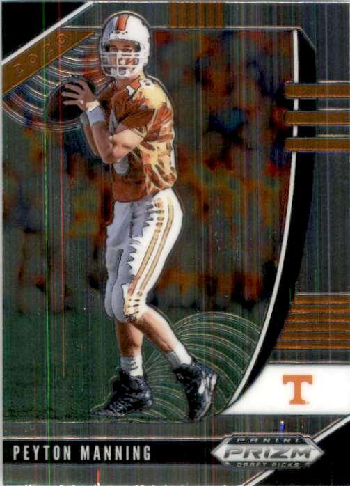 2020 Panini Prizm Draft Picks Peyton Manning #82 card front image