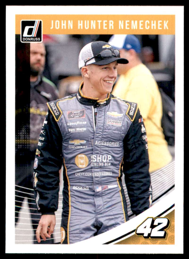 2019 Donruss John Hunter Nemechek #35 card front image
