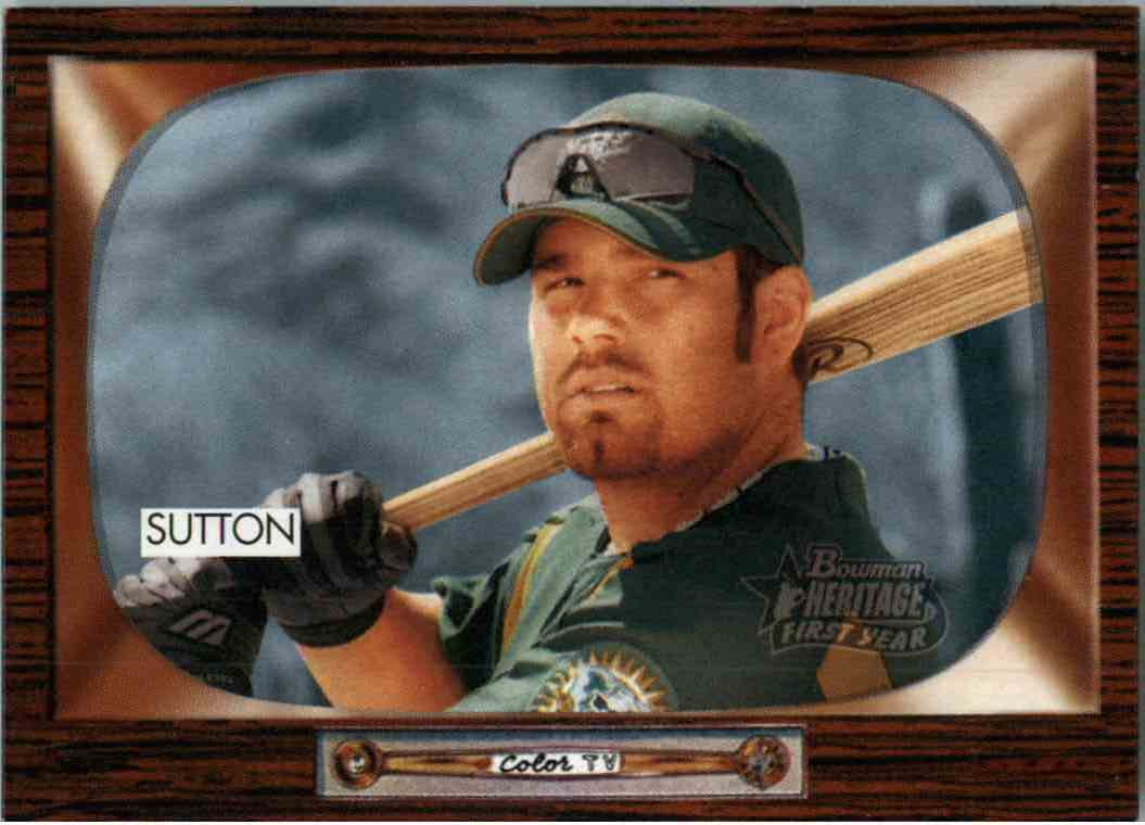 2004 Bowman Heritage Don Sutton #297 card front image
