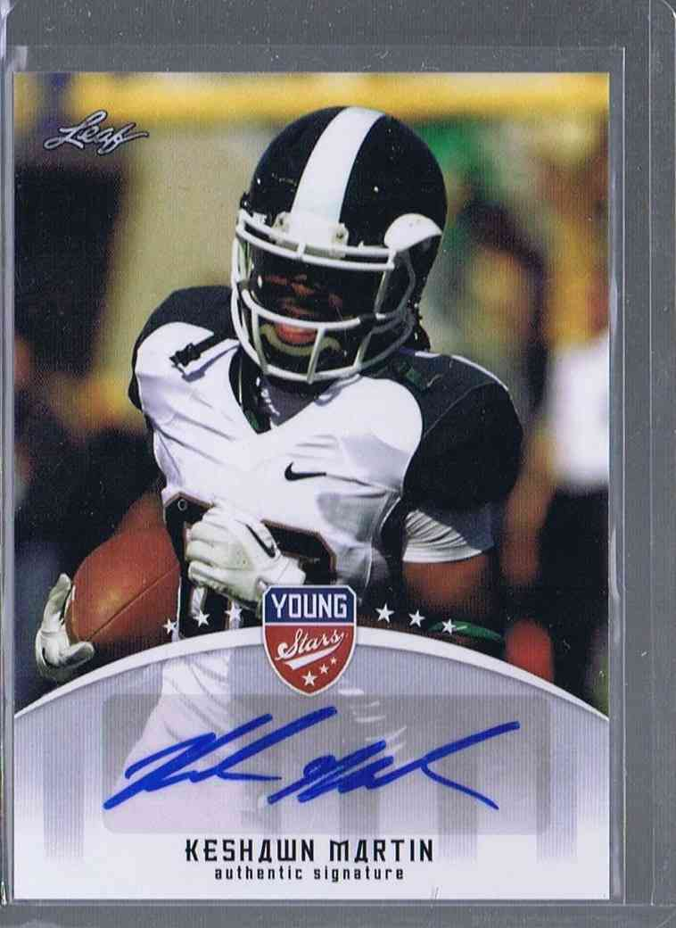 2012 Leaf Young Stars Keshawn Martin #KM2 card front image