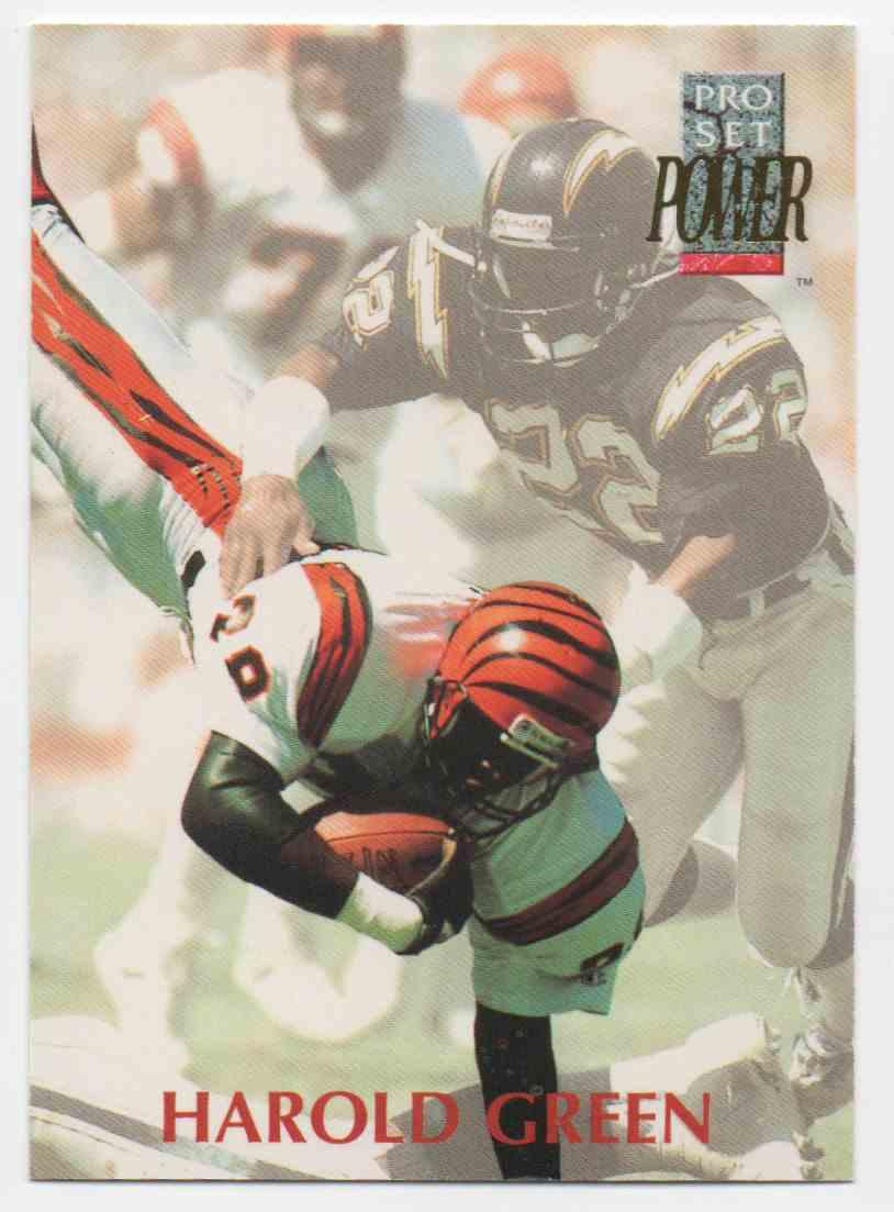 1992 Pro Set Power Harold Green #227 card front image