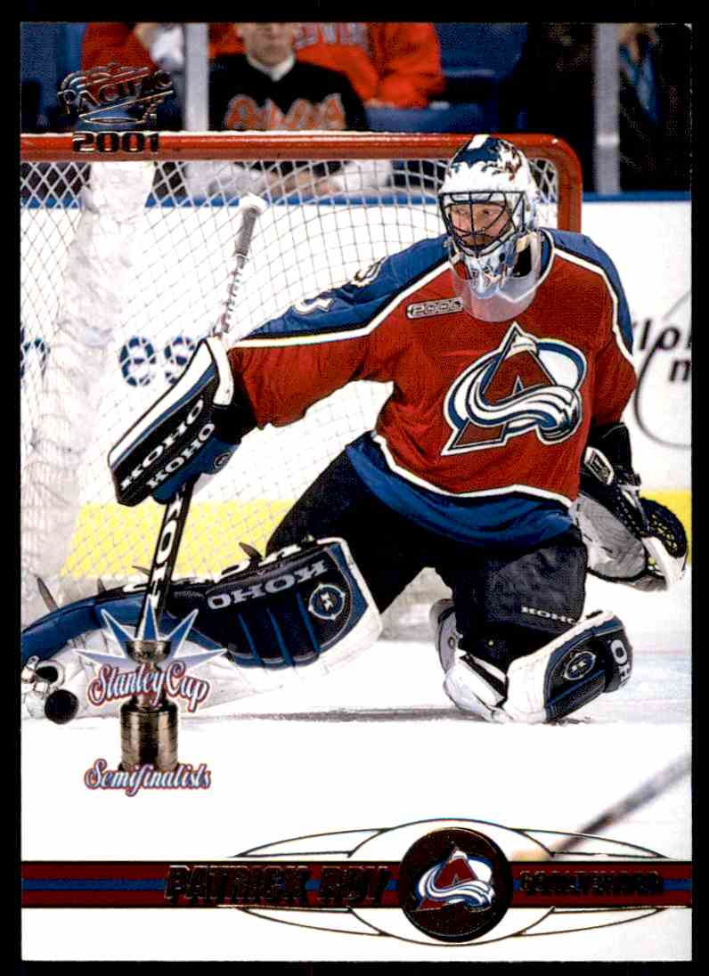 2000-01 Pacific Patrick Roy #120 card front image