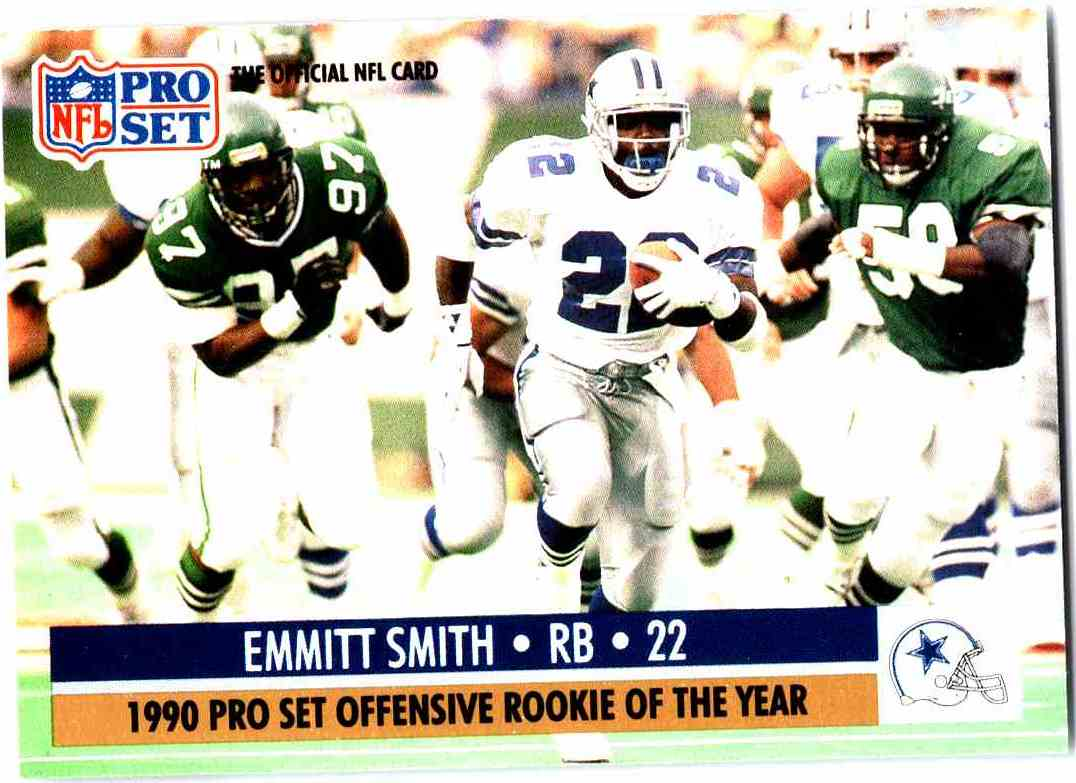 1990 Pro Set Emmitt Smith 800o On Kronozio