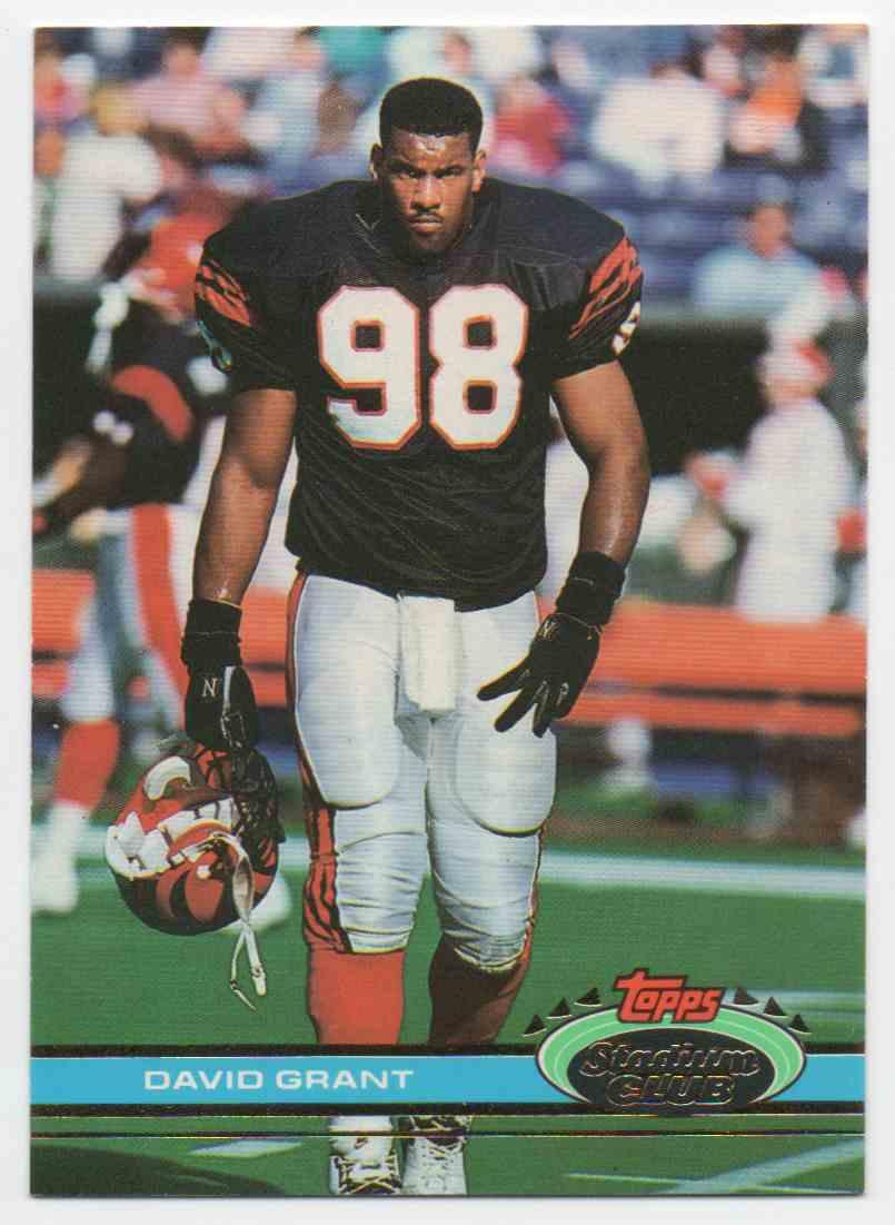 1991 Stadium Club David Grant #69 card front image