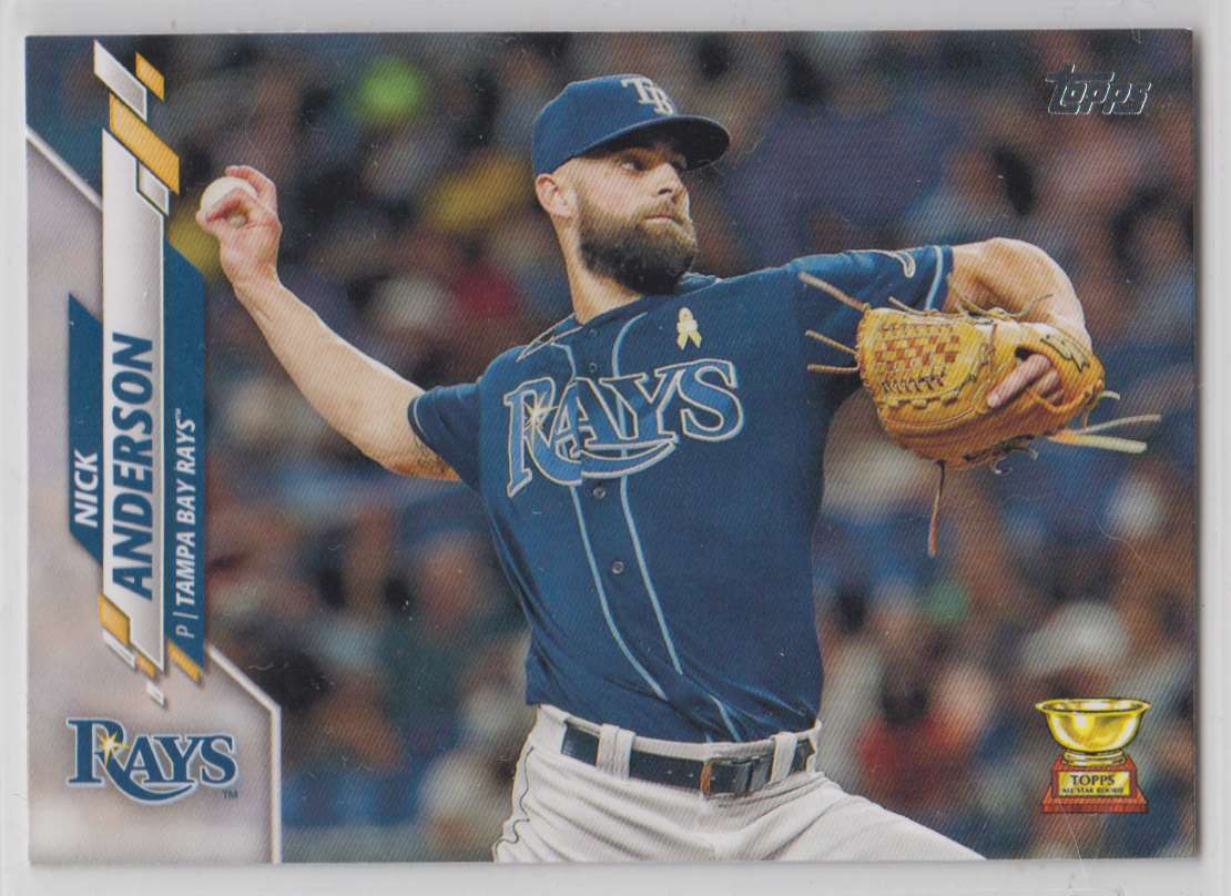 2020 Topps Nick Anderson #500 card front image