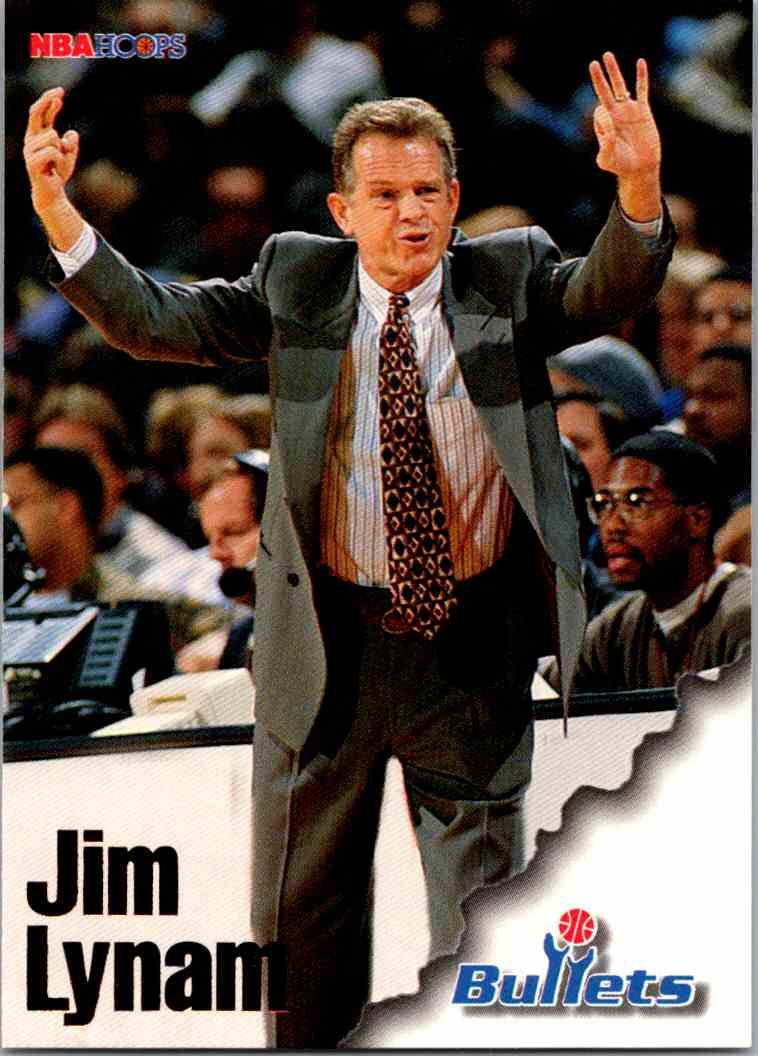 1997-98 NBA Hoops Jim Lynam #277 card front image