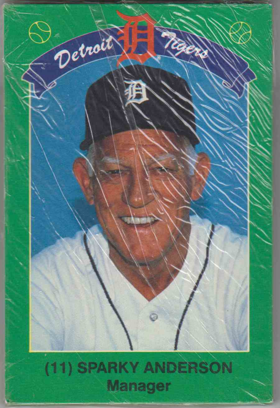 1990 Tigers Coke/Kroger Sparky Anderson #1 card front image