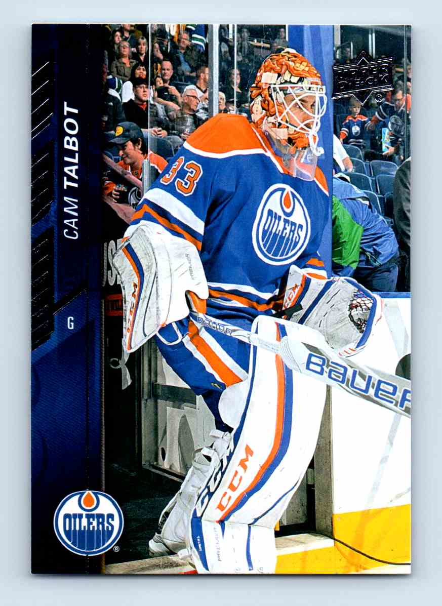2015-16 Upper Deck Series Two Cam Talbot #329 card front image
