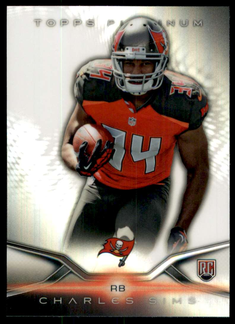2014 Topps Platinum Charles Sims RC #120 card front image